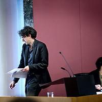 Nederland, Amsterdam , 13 februari 2013.<br /> Pieter Hilhorst is een Nederlands politicoloog en publicist. Sinds 28 november 2012 is hij wethouder van financiën, onderwijs en sport van Amsterdam, als opvolger voor Lodewijk Asscher die sinds 5 november 2012 minister van Sociale Zaken en Werkgelegenheid en vicepremier is in het kabinet-Rutte II. Als publicist schreef hij columns voor de Volkskrant en was programmamaker voor de VARA.<br /> Foto:Jean-Pierre Jans