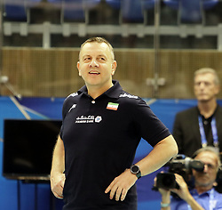 September 12, 2018 - Varna, Bulgaria - headcoach Igor KOLAKOVIC (Iran), .FIVB Volleyball Men's World Championship 2018, pool D, Iran vs Puerto Rico,. Palace of Culture and Sport, Varna/Bulgaria, .the teams of Finland, Cuba, Puerto Rico, Poland, Iran and co-host Bulgaria are playing in pool D in the preliminary round. (Credit Image: © Wolfgang Fehrmann/ZUMA Wire)