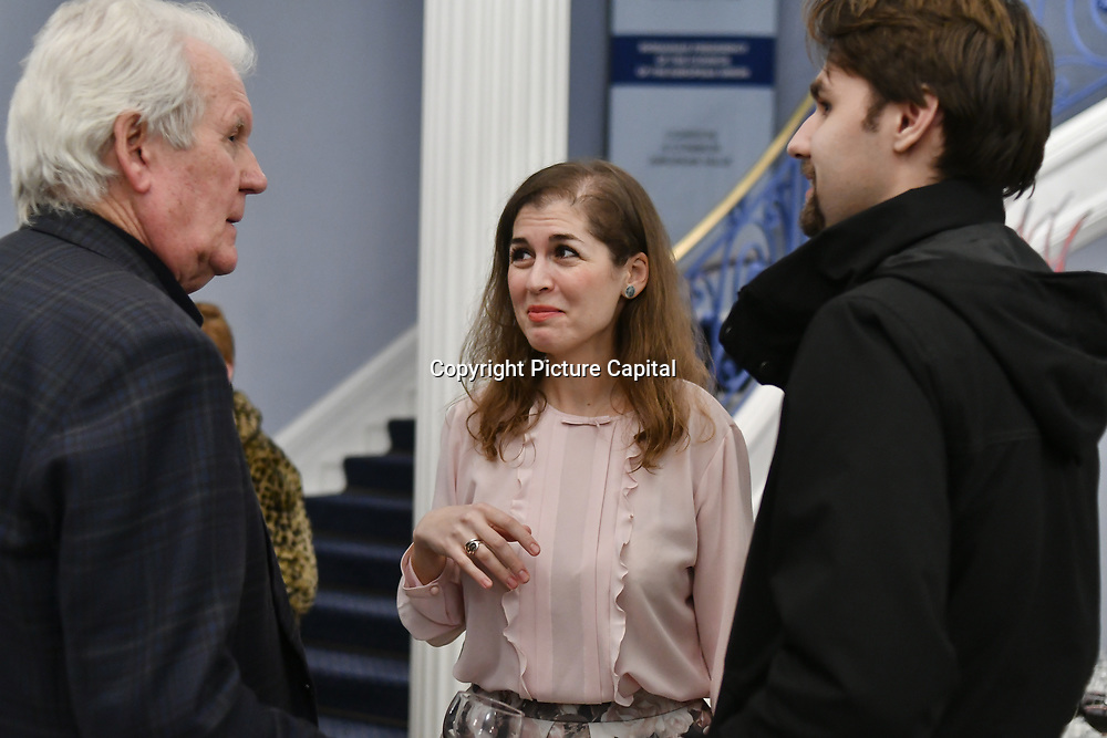 Ines Coleman organise of The Romanian Cultural Institute in London continues in its endeavour to promote upcoming Romanian designers Gabriela Rose exhibition at The Romanian Cultural Institute in London on 21 Feb 2019, London, UK.