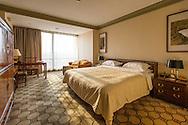 Hotel room in Beijing, China