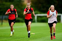 Gemma Evans and Abi Harrison - Ryan Hiscott/JMP - 08/08/2019 - SPORT - Stoke Gifford Stadium - Bristol, England - Bristol City Women Training