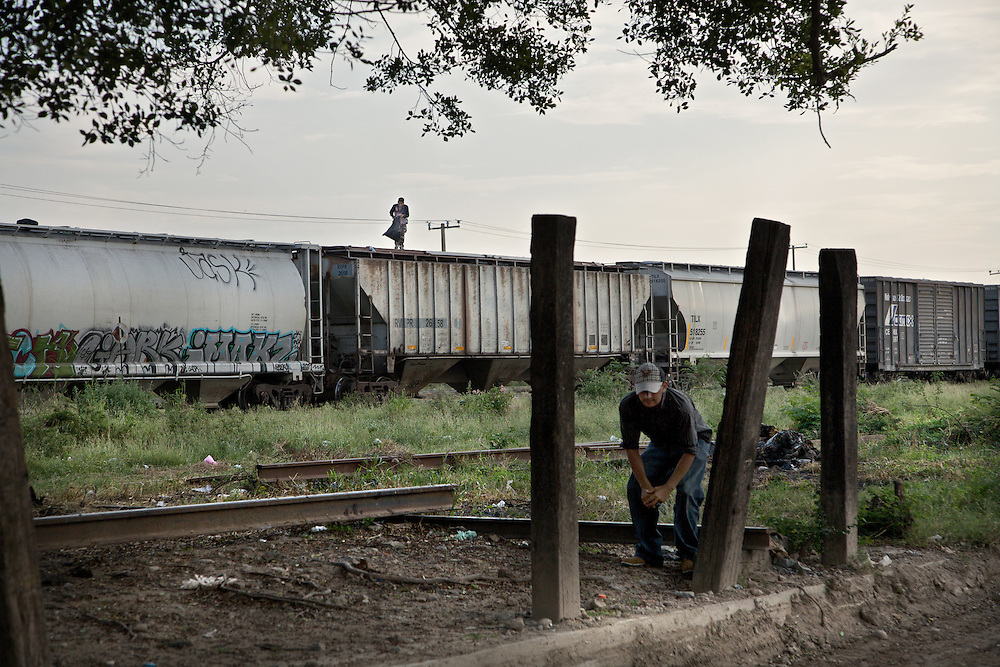 Loneliness is the traveling companion of every migrant. Ixtepec-Oxaca-Mexico,2011