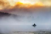 Summer morning at Golyam Beglik Lake