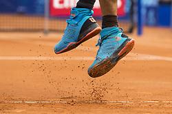 July 26, 2017 - Gstaad, Schweiz - 26.07.2016, Gstaad, Tennis, Swiss Open Gstaad 2017, Fearure Tennisschuhe und Sand  (Credit Image: © Pascal Muller/EQ Images via ZUMA Press)