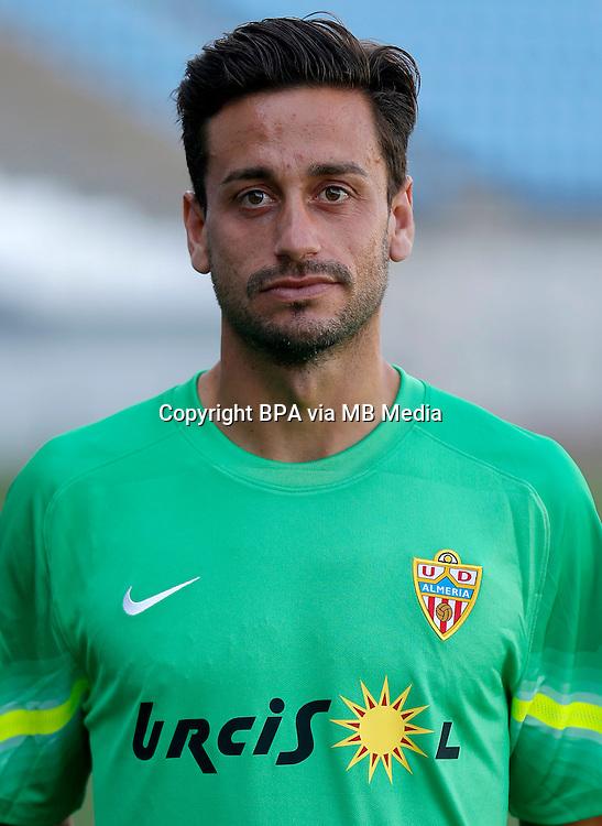 Spain - La Liga Adelante 2015-2016 / <br /> ( U.D. Almeria ) - <br /> Casto Espinosa Barriga
