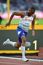 Matthew Hudson-Smith of Great Britain in action - Mandatory byline: Patrick Khachfe/JMP - 07966 386802 - 06/08/2017 - ATHLETICS - London Stadium - London, England - Men's 400m Semi Final - IAAF World Championships