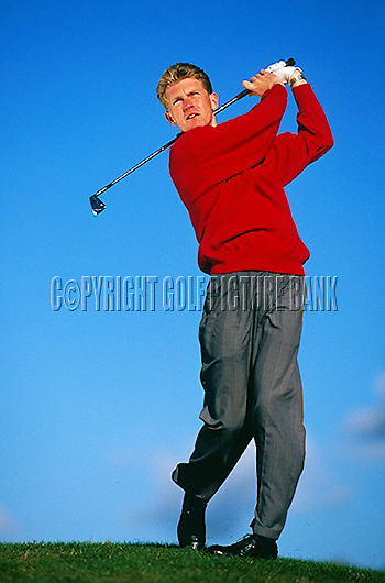 Keith Wood PGA Pro Brocket Hall Golf Club. UK<br /> Picture Credit: Nick Walker/Golf Picture Bank.
