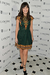 Actress ALESSANDRA MASTRONARDI at the Lancôme pre BAFTA party held at The London Edition, 10 Berners Street, London on 14th February 2014.