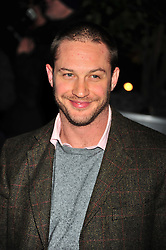 © Licensed to London News Pictures. 14/12/2011. London, England. Tom Hardy attends the English National Ballet: The Nutcracker - Christmas Performance in St Martins London .  Photo credit : ALAN ROXBOROUGH/LNP
