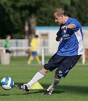 Jena , 140807 , Saison 2007/2008 ; Fussball 2.Bundesliga  FC Carl Zeiss Jena  Neuzugang Sandor TORGHELLE (Jena) im Training