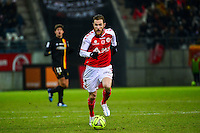Antoine DEVAUX - 25.01.2015 - Reims / Lens  - 22eme journee de Ligue1<br /> Photo : Dave Winter / Icon Sport *** Local Caption ***