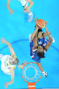 DESCRIZIONE : Riga Latvia Lettonia Eurobasket Women 2009 Qualifying Round Lituania Francia Lithuania France<br /> GIOCATORE : Emmeline Dongue<br /> SQUADRA : Francia France<br /> EVENTO : Eurobasket Women 2009 Campionati Europei Donne 2009 <br /> GARA : Lituania Francia Lithuania France<br /> DATA : 12/06/2009 <br /> CATEGORIA : special super rimbalzo<br /> SPORT : Pallacanestro <br /> AUTORE : Agenzia Ciamillo-Castoria/M.Marchi<br /> Galleria : Eurobasket Women 2009 <br /> Fotonotizia : Riga Latvia Lettonia Eurobasket Women 2009 Qualifying Round Lituania Francia Lithuania France<br /> Predefinita :