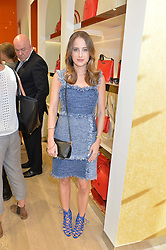 ROSIE FORTESCUE at the launch the Folli Follie Flagship store at 493 Oxford Street, London on 28th May 2015.