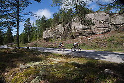 Christine Majerus (LUX) of Boels-Dolmans Cycling Team rides in one of the short-lived breaks on Stage 3 of the Ladies Tour of Norway - a 156.6 km road race, between Svinesund (SE) and Halden on August 20, 2017, in Ostfold, Norway. (Photo by Balint Hamvas/Velofocus.com)
