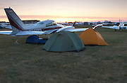 Adam, Camron Hanks and Eddie Bobo flew with me to EAA Airventure in Oshkosh WI where we camped near the airplane.