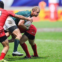 Philip Snyman of South Africa during match between South Africa and Russia at the HSBC Paris Sevens, stage of the Rugby Sevens World Series at Stade Jean Bouin on June 9, 2018 in Paris, France. (Photo by Sandra Ruhaut/Icon Sport)