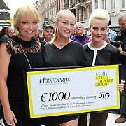 NLD/Amsterdam/20110904 - Grazia PC Catwalk 2011, Hilmar Mulder, Caroline Spoor en Stacey Rookhuizen