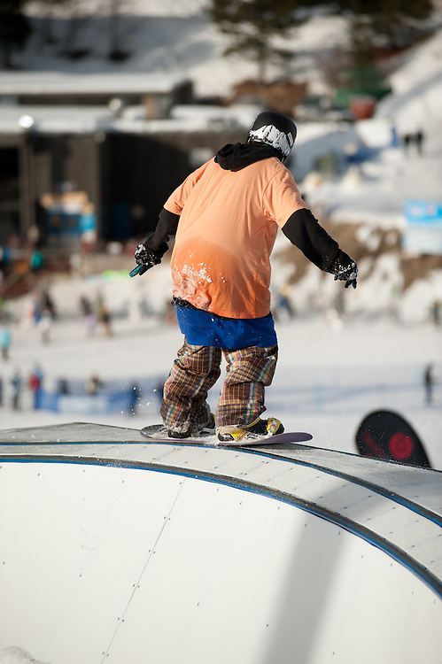 Image from the 3rd Rail Jam at Bogus Basin on Saturday, February 12, 2011.