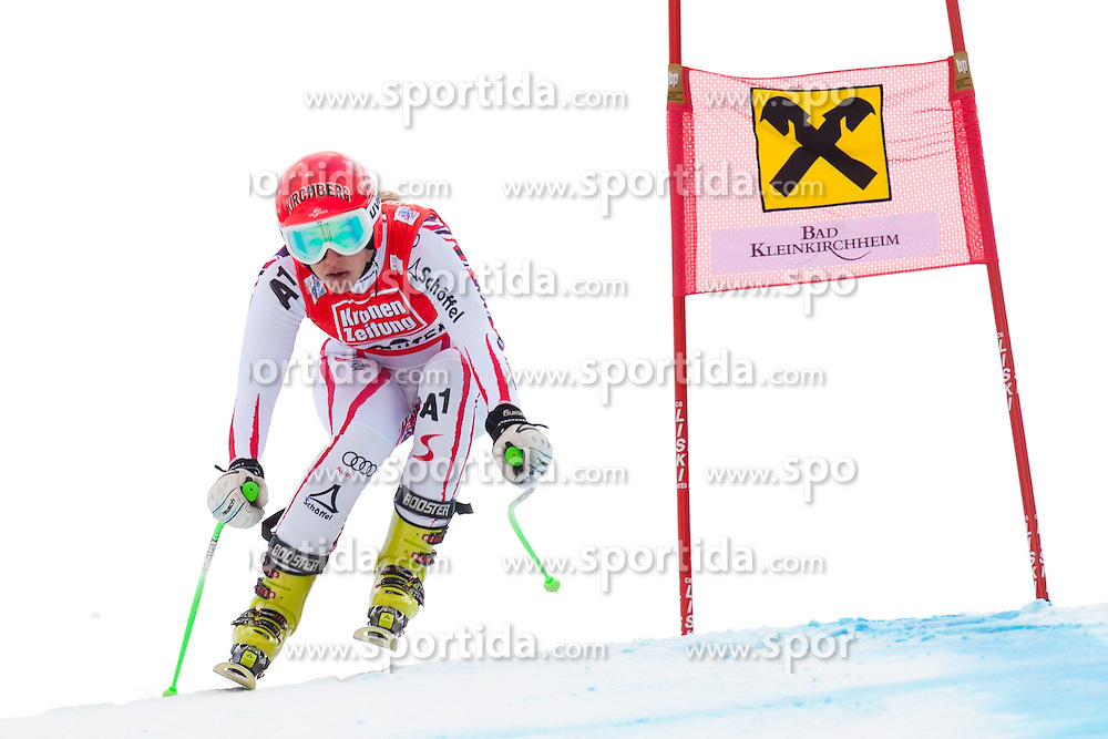08.01.2012, Weltcupabfahrt Kaernten – Franz Klammer, Bad Kleinkirchheim, AUT, FIS Weltcup Ski Alpin, Damen, Super G, im Bild Jessica Depauli (AUT) // Jessica Depauli of Austria during ladies Super G at FIS Ski Alpine World Cup at 'Kaernten – Franz Klammer' course in Bad Kleinkirchheim, Austria on 2012/01/08. EXPA Pictures © 2012, PhotoCredit: EXPA/ Johann Groder