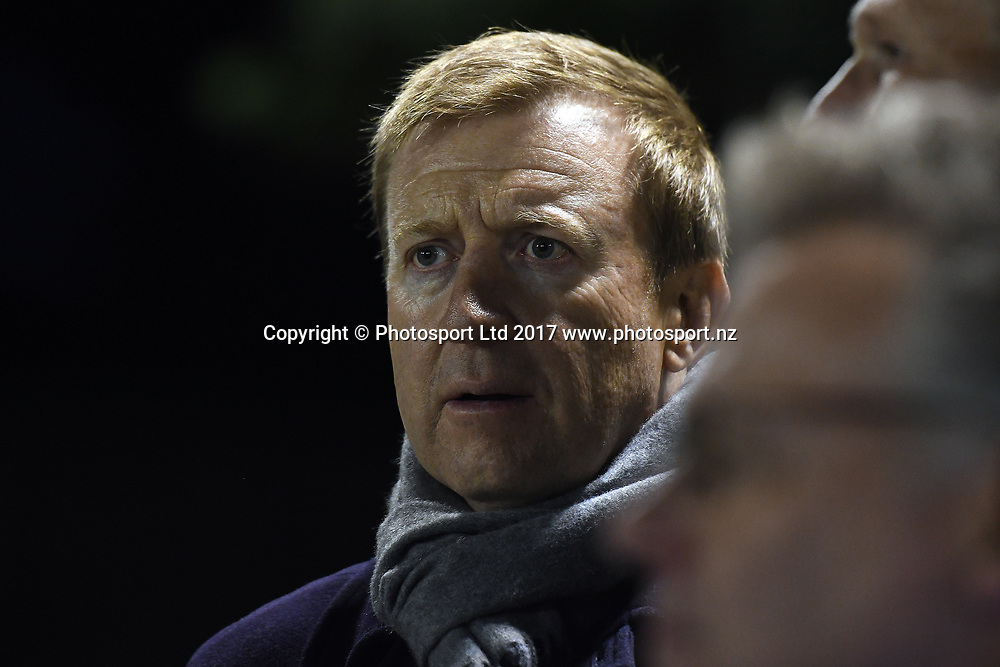 Honarable Minister for Sport and Recreation Dr Jonathan Coleman seen during the third International Hockey match, New Zealand Black Sticks vs Pakistan, National Hockey Stadium, Wellington, Monday 20th March 2017. Copyright Photo: Raghavan Venugopal / www.photosport.nz