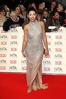 Cara De La Hoyde, National Television Awards, The O2 , London UK, 25 January 2017, Photo by Richard Goldschmidt