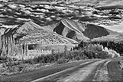 Ogilvie  Mountains on the Dempster Highway (KM 220)<br />Dempster Highway<br />Yukon<br />Canada<br />Dempster Highway<br />Yukon<br />Canada