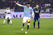Foto LaPresse/Filippo Rubin<br /> 26/12/2018 Ferrara (Italia)<br /> Sport Calcio<br /> Spal - Udinese - Campionato di calcio Serie A 2018/2019 - Stadio &quot;Paolo Mazza&quot;<br /> Nella foto: ALBERTO PALOSCHI (SPAL)<br /> <br /> Photo LaPresse/Filippo Rubin<br /> December 26, 2018 Ferrara (Italy)<br /> Sport Soccer<br /> Spal vs Udinese - Italian Football Championship League A 2018/2019 - &quot;Paolo Mazza&quot; Stadium <br /> In the pic: ALBERTO PALOSCHI (SPAL)