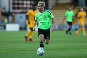 Forest Green Rovers Isaac Pearce(17) on the ball during the Pre-Season Friendly match between Torquay United and Forest Green Rovers at Plainmoor, Torquay, England on 10 July 2018. Picture by Shane Healey.