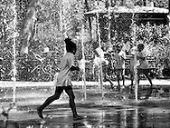 Summer fun at Battery Park.