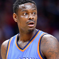 21 December 2015: Oklahoma City Thunder guard Anthony Morrow (2) is seen during the Oklahoma City Thunder 100-99 victory over the Los Angeles Clippers, at the Staples Center, Los Angeles, California, USA.