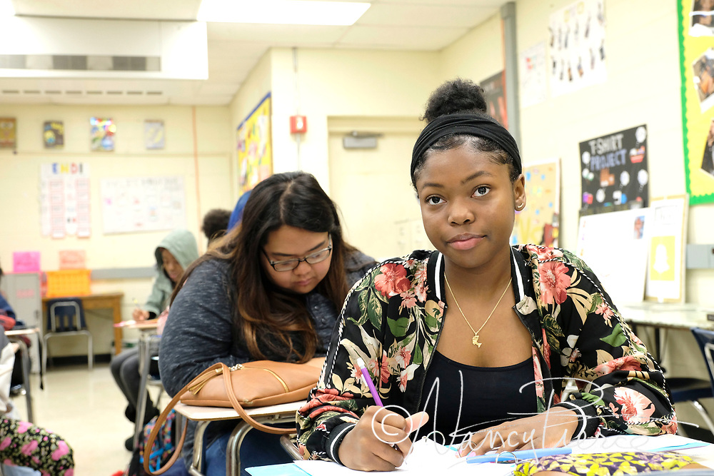 CTE - Fashion Merchandising and Fashion Design classes at North Mecklenburg High School