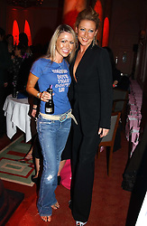 Left to right, Actress ADELE SILVA and Singer FAYE TOZIER at the Pink Ribbon Party - A night of Fashion and Music in aid of 3 cancer charities, Breast Cancer Haven, Cancer Resource Centre and Positive Action on Cancer, held at the Waldorf Hilton Hotel, Aldwych, London on 19th October 2004. <br /><br />MINIMUM REPRODUCTION FEE - SEE OUR WEB SITE<br /><br />NON EXCLUSIVE - WORLD RIGHTS