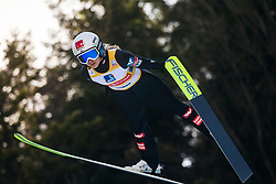 HOELZL Chiara (AUT) during First round on Day 1 of FIS Ski Jumping World Cup Ladies Ljubno 2020, on February 22th, 2020 in Ljubno ob Savinji, Ljubno ob Savinji, Slovenia. Photo by Matic Ritonja / Sportida