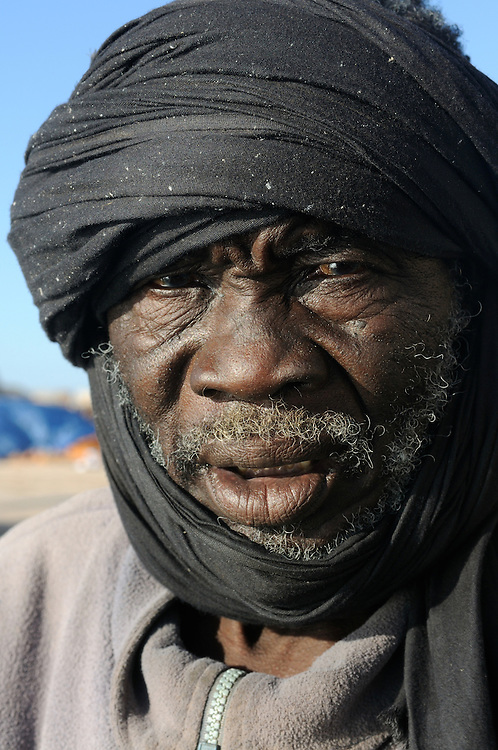 Portrait of a Imraguen fisherman in the Banc d´Arguin, Western Africa, Mauritania, Africa