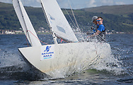 Largs Regatta Festival 2018<br /> <br /> Day 1 - Excalibur, Etchells, Brian Young, Class One. <br /> <br /> Images: Marc Turner
