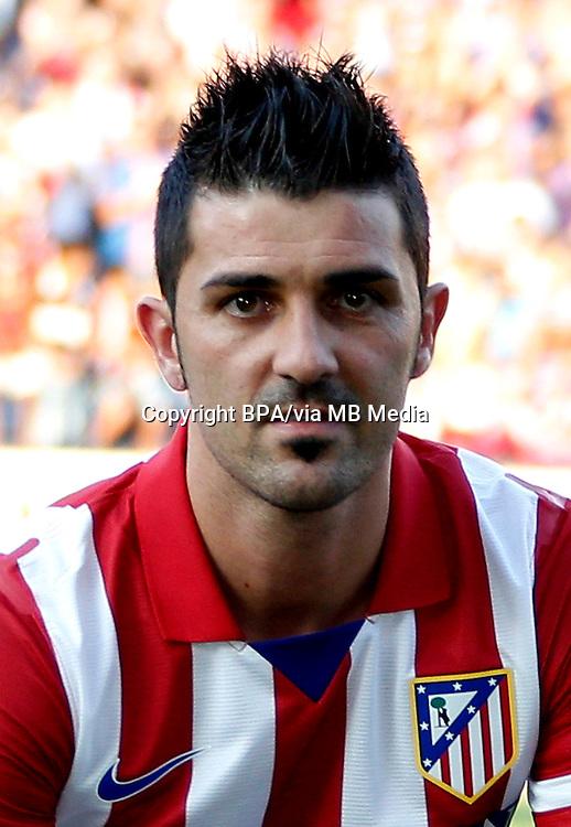 David Villa  ( Atlético Madrid )