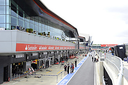 07.07.2011, Silverstone Circuit, Silverstone, GBR, F1, Großer Preis von Großbritannien, Silverstone, im Bild English F1 Grand Prix Impressions - New Pit Building   EXPA Pictures © 2011, PhotoCredit: EXPA/ nph/  Dieter Mathis       ****** out of GER / CRO  / BEL ******