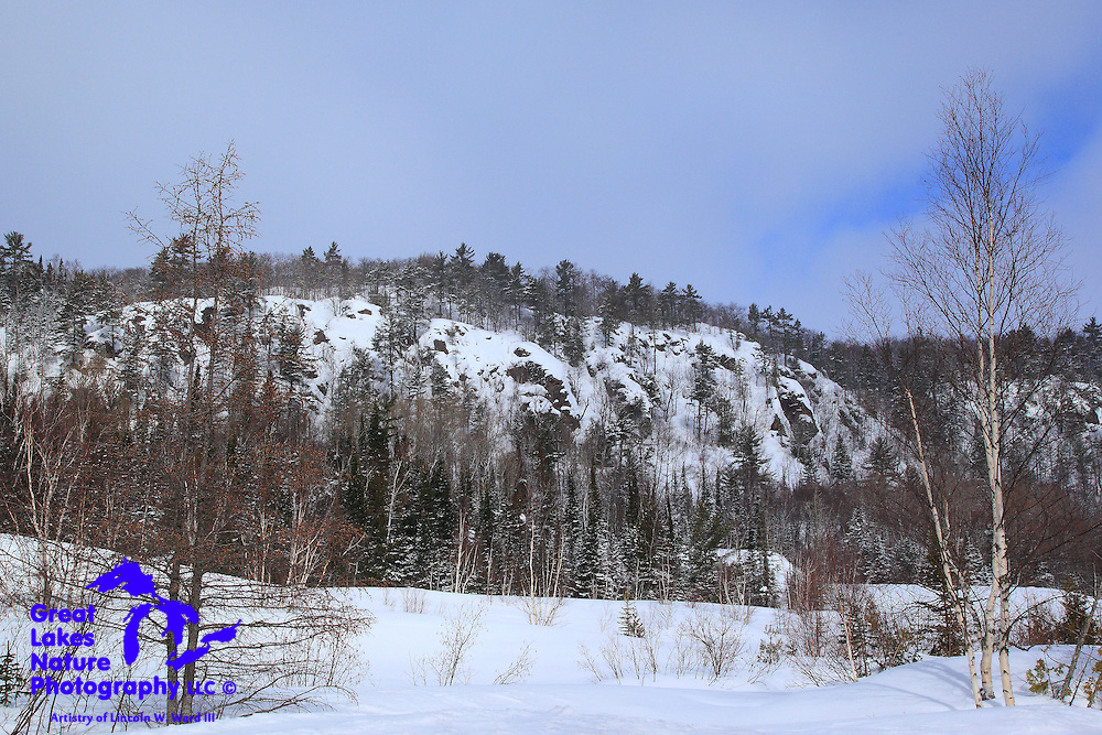 The Cliff Range, midway into Keweenaw County, provides an endless array of beautiful, natural sights for a photographer.
