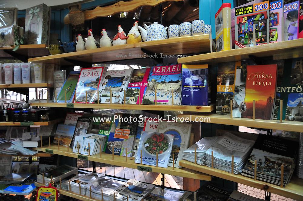 Israel, Holyland interior of a souvenir shop