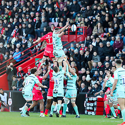 Alex CRAIG of Gloucester during the European Rugby Champions Cup, Pool 5 match between Toulouse and Gloucester on January 19, 2020 in Toulouse, France. (Photo by Manuel Blondeau/Icon Sport) - Stade Ernest-Wallon - Toulouse (France)