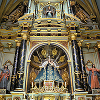 Our Lady of Candelaria Chapel in Lima Cathedral in Lima, Peru<br />