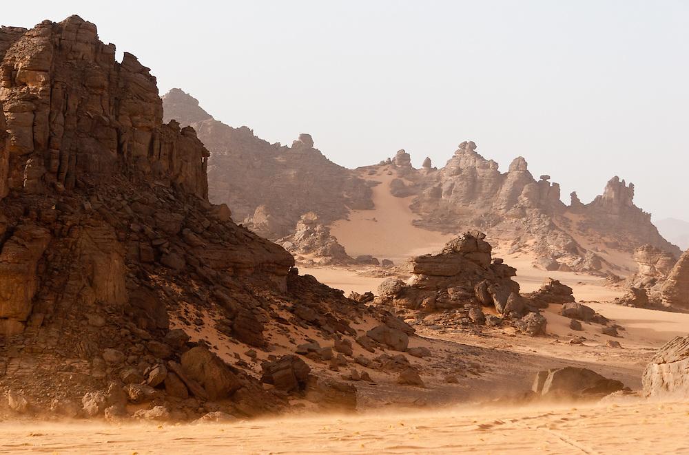 Tadrart Acacus region, Libya