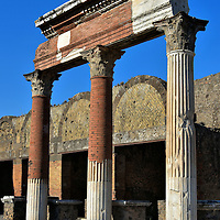 Marcelleum at Forum in Pompeii, Italy<br />