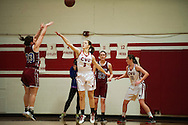 The girls basketball game between Spaulding and Champlain Valley Union on senior night at CVU High School on Thursday night February 11, 2016 in Hinesburg, Vermont.