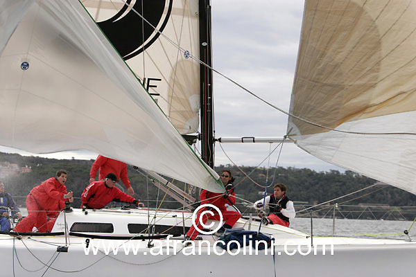 SAILING - BMW Winter Series 2005 - CALIBER, Sydney (AUS) - 19/06/05 - ph. Andrea Francolini
