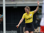 Umpire during their semi final of the EHCC 2017 at Den Bosch HC, The Netherlands, 3rd June 2017
