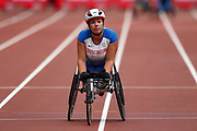 Hanna Cockroft of Great Britain during the Muller Anniversary Games, Day Two, at the London Stadium, London, England on 22 July 2018. Picture by Martin Cole.