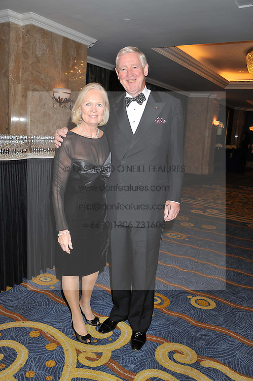 KENNETH & SUSAN GREEN at the 20th CEW (UK) Achiever Awards 2012 - celebrating two decades of women, passion, beauty, held at the Hilton, park Lane, London on 16th October 2012.