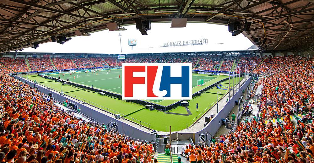 DEN HAAG - Nederland-Korea tijdens WK Hockey in Kyocera. COPYRIGHT VALERIE KUYPERS