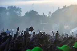 Sunday at TRNSMT music festival, Glasgow Green.